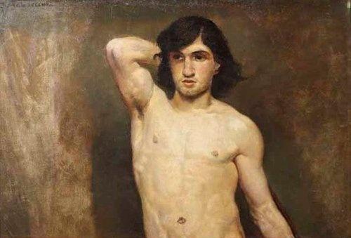 Jacek Malczewski - David, ca 1877