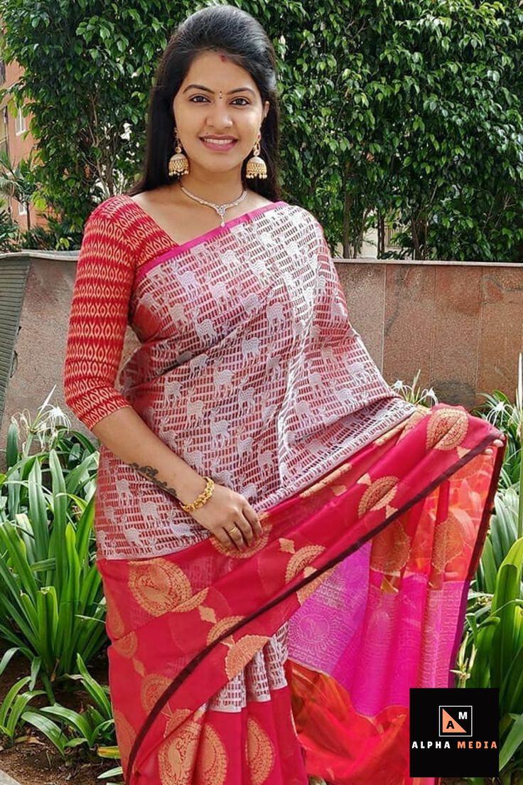 Pin by KairaFashion on Saree blouses and draping. | Trendy