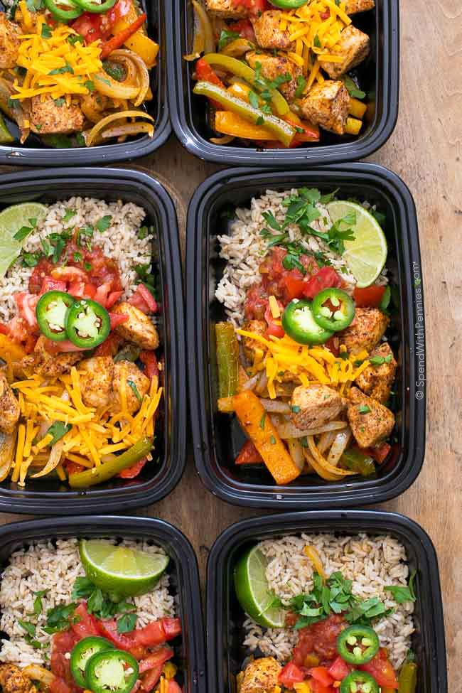 No matter how busy life gets, we still have to eat. With simplemake aheadideas like these Fajita Meal Prep Bowls, eating great all week is as easy as opening the fridge tograb a dish! They're delicious, healthy and 21 day fix approved and they freeze perfectly! ©SpendWithPennies.com Fajita Meal Prep Bowls Pin it to yourContinue Reading...