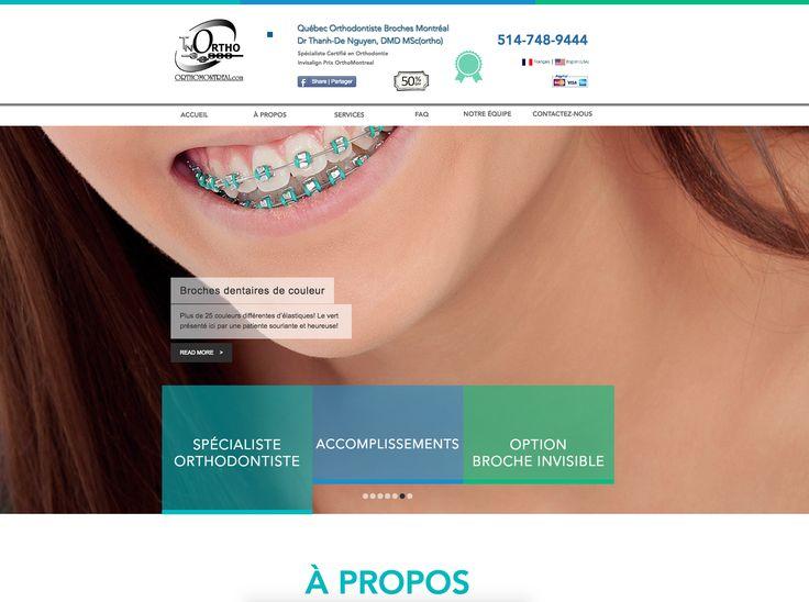 """Chez Cavalerie Web Media nous travaillons présentement sur un nouveau projet de site internet pour notre client Dr. Thanh-De Nguyen """" #ORTHODONTIST """" du Grand #MONTREAL Quebec City, un site web à la fine pointe de la technologie qui parlera en trotre des sujets suivants : #INVISALIGN Braces Cost Montreal, how much do invisalign braces cost, how much do invisible braces cost, invisible teeth braces cost, crooked teeth treatment without braces"""