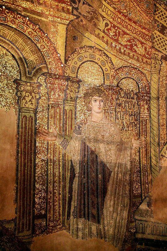 Rotonda di San Giorgio, Salonicco, Grecia, I mosaici della fine del IV -metà del V secolo. San Porfirio