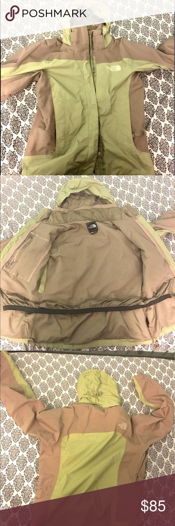 The north face waterproof ski jacket Womens THE NORTH FACE VARIUS GUIDE Waterproof HYVENT PARKA Ski Jacket  hardly used one small red scuff on sleeve most likely washable The North Face Jackets & Coats