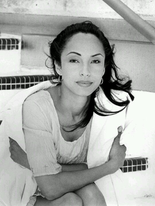 One of my favorite artists...Sade.. always been one of my favorite girl crushes...