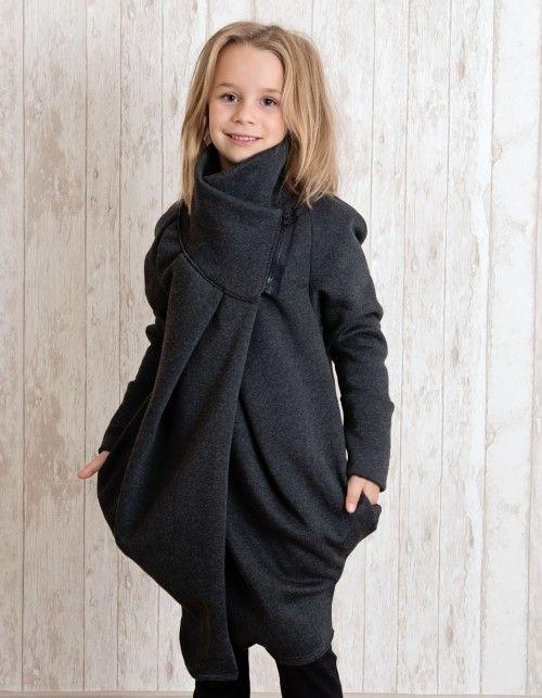 ALBA COAT Płaszcz dziewczęcy   MeMola   SHOWROOM Kids