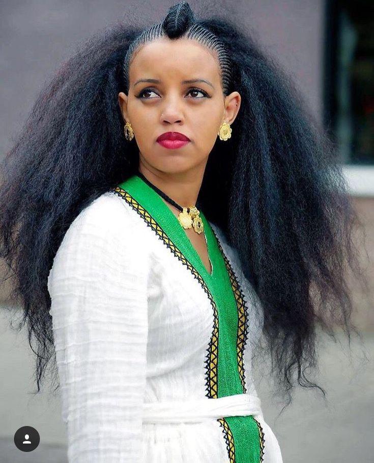 Ethiopian Hairstyle Ethiopian Hair African Hairstyles Natural Hair Styles