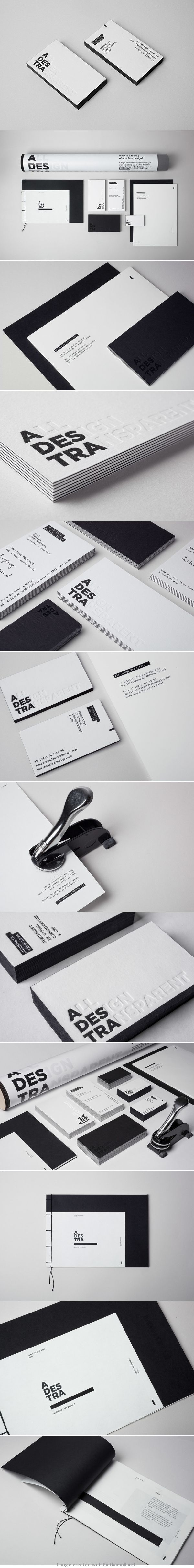 All Design Transparent. B&W #brand #Identity - Creativeideas.today