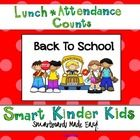 Looking for a fun way to do Lunch Count and Attendance?  This is a great way to accomplish some of your morning routines while allowing your studen...