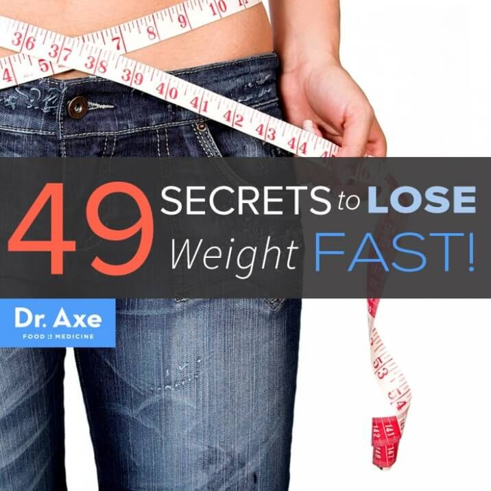 Secrets to Lose Weight Fast Title