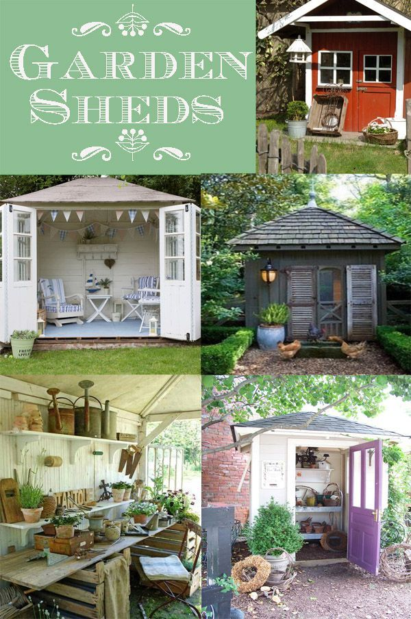 Garden Sheds: Who Doesnu0027t Love A Classic Garden Shed? This Collection Of
