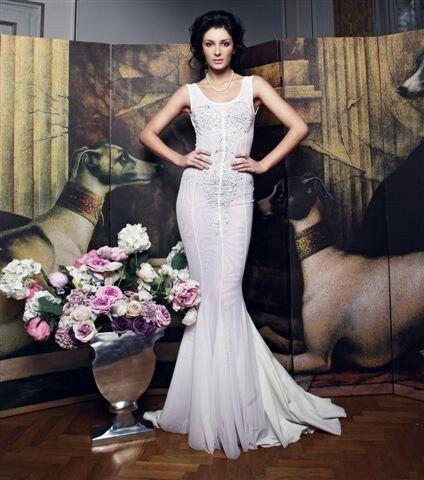 photo Lukas Kimlicka / wedding dress by Jana Gavalcova fashion designer / Miss Slovensko 2013