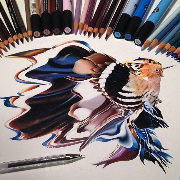 Best Drawing Mix Media Images On Pinterest Colors Artists - Artist uses pencils to create hyperrealistic drawings of paint