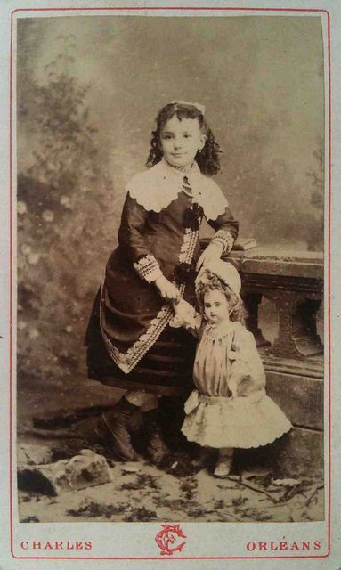 MY DOLLY & ME~girl with a french doll
