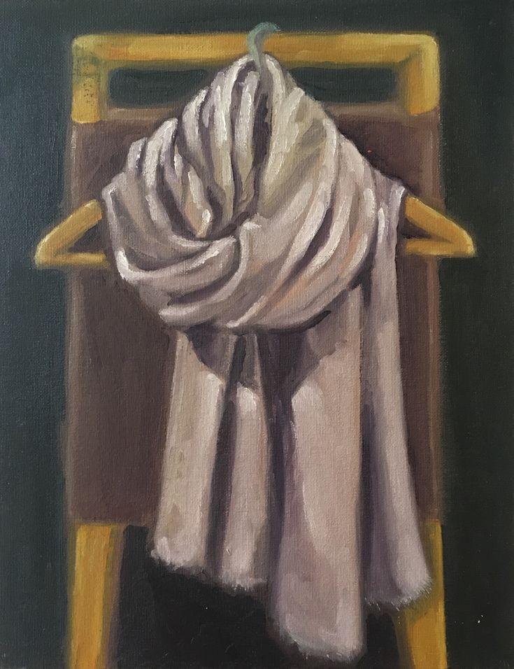 P #11-1. 11x14. Oil on Canvas. 2017