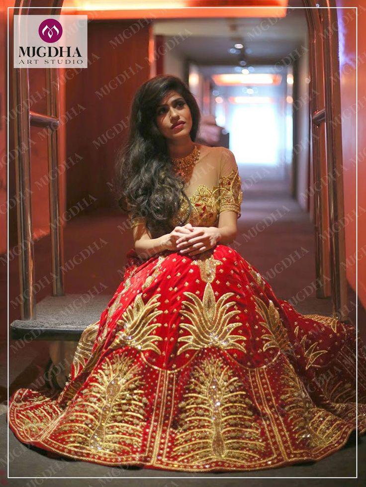 Our New Bridal Collection is Out!!And This is one of the First Outfits... Inspired from the New Age Indian Brides... our small tribute to them!!Stunning Red Bridal Lehenga from the House of Mugdhas!Love  Looms and The Princess!!Code: LHG-222Contact Details/WhatsApp:9010906544/8142029190Email-ID:Mugdha410@gmail.comInstagram:MugdhaArtStudio bridalcollection  designerware  mugdhaartstudio   28 November 2016