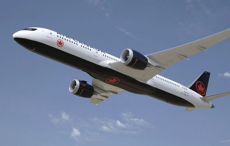 <p>Here's what you'll see from the ground.<br /> (Air Canada) </p>