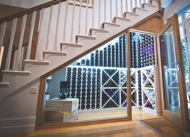 wine rack by john lewis idea for under the stairs is an external wall
