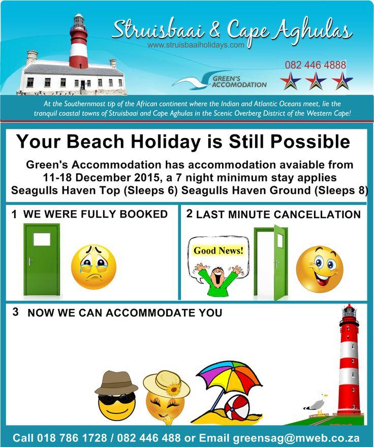 #DecemberAccommodation #SeasideAccommodation #BeachAccommodation #FishingHoliday