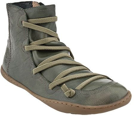 Camper Peu Cami 46104 Boots - Olive -     For a girl who doesn't wear shoes often...I reckon these might be pretty comfy    http://www.shoesopia.com/shop/product/1/6519-250/Camper-Peu-Cami-46104-Boots-Olive-Women.html