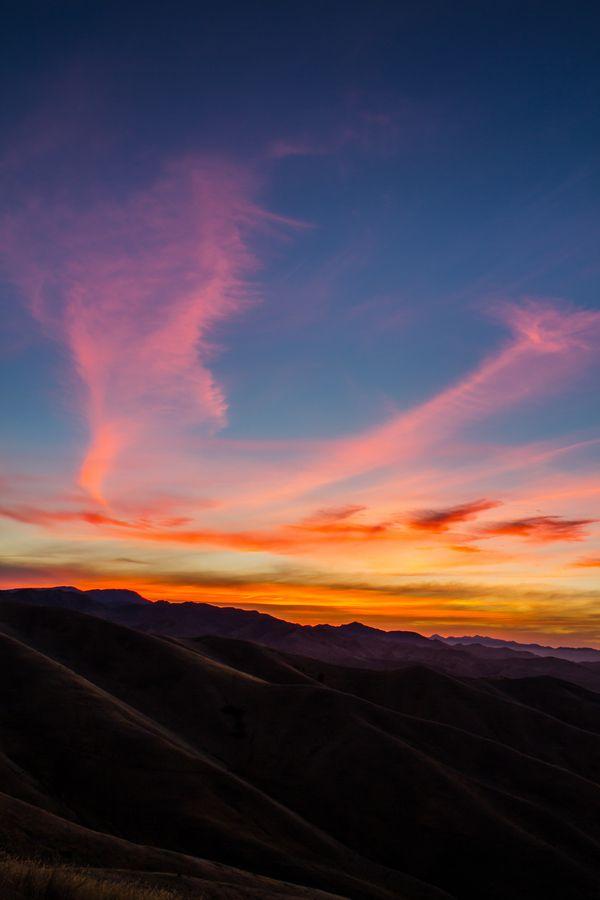 Sunset - Wither Hills Blenheim, New Zealand