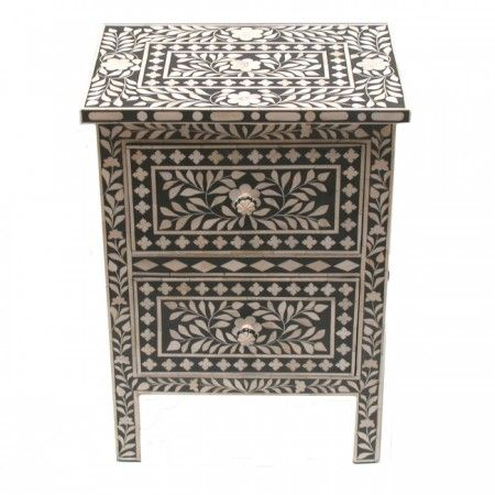 39 Best Bone Inlay Furniture Images On Pinterest Bones