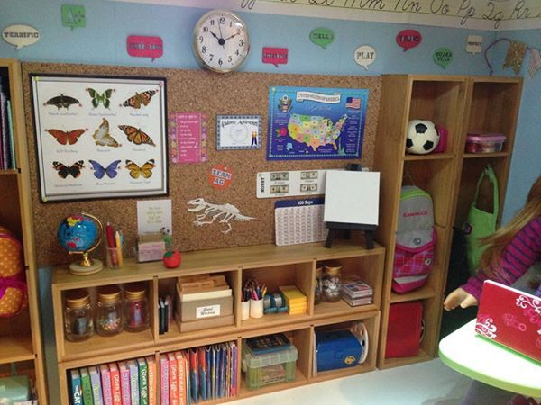 74 Best Diy School For American Girl Dollhouse Images On
