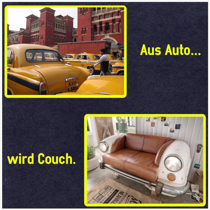 #autosofa #autocouch #autoteile #möbel #original #hindustan #ambassador