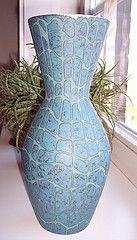 Carstens Tnnieshof Vase (653 - 28) (Ahornblatt2012) Tags: vintage retro vase pottery sixties modernist midcentury keramik carstens wgp westgerman tnnieshof