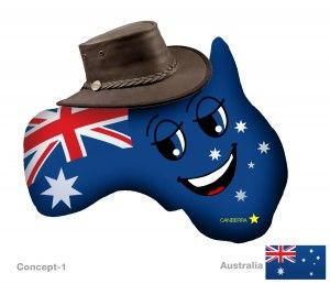 New Australia Plushky Design #kids #toys #global #culture #multicultural #globalkids #Australia