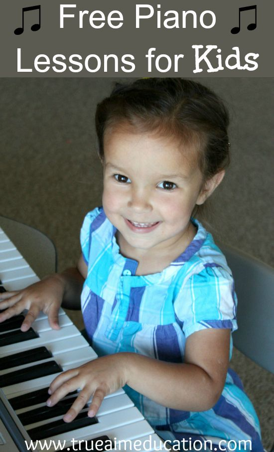 Free Piano Lessons For Kids.  Free online video lessons for beginners!  Your children will love the hands-on activities.