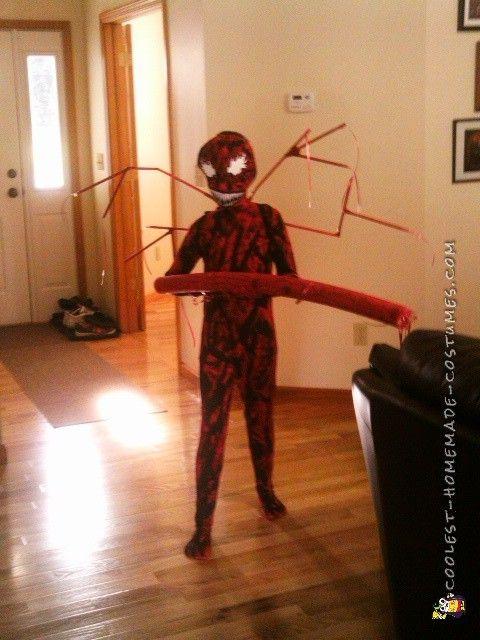 Cool DIY Carnage Kid Costume!!!