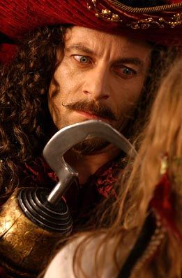 Jason Isaacs as Capt. Hook in Peter Pan (2003)