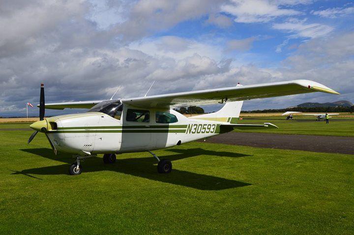 Cessna 210  Perth Airport Scotland Copyright to Michael Miklos #aviation #airport #airplane #plane #aircraft #flight #planespotting #beautiful #aviationlovers #cockpit #fly #boeing #airbus #crew #pilot #sky #travel #amazing #avgeek  #airshow #jet