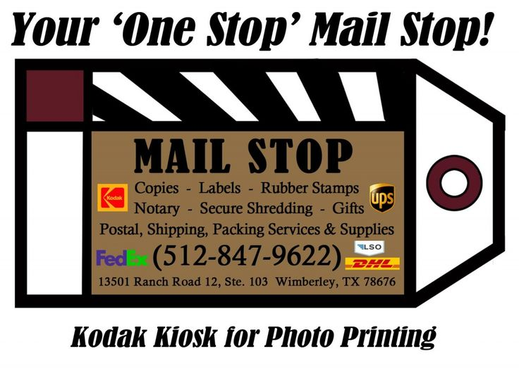 Copies  Labels  Rubber Stamps  Notary  Secure Shredding  Gifts  Postal, Shipping, Packing ...   Mailstop LLC - Wimberley, TX #texas #SanMarcosTX #shoplocal #localTX