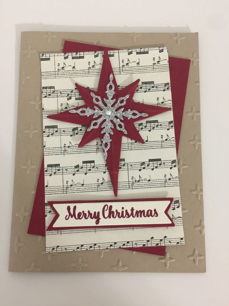 Stampin' Up Star of Light Stamp Set and Starlight Thinlits