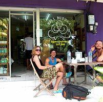 #Bali Buda #bukit - #organicmarket #healthfoodshop sandwich bar and mini #rawfoodcafe - #rawfoodbali