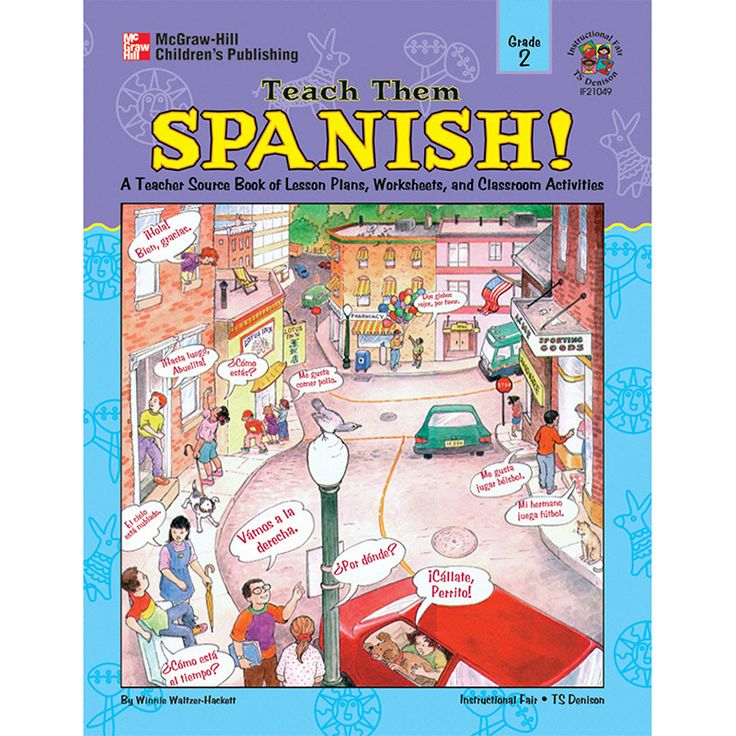 Spanish lesson for high school students