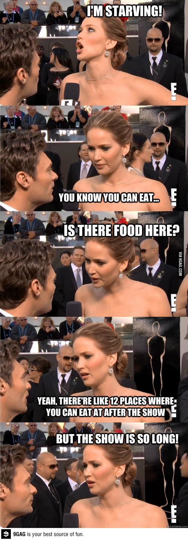 Jennifer Lawrence: the star of The Hunger Games who is forever hungry