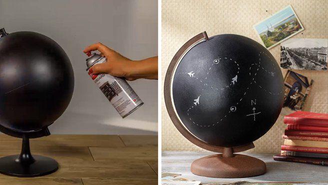 les 25 meilleures id es de la cat gorie globe terrestre sur pinterest globe terrestre. Black Bedroom Furniture Sets. Home Design Ideas