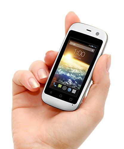 "POSH MOBILE MICRO X, The Smallest Smartphone in the World, ANDROID UNLOCKED 2.4"" GSM SMARTPHONE with 2MP Camera and 4GB of Storage. 1 Year warranty. (MODEL#: S240 WHITE)"