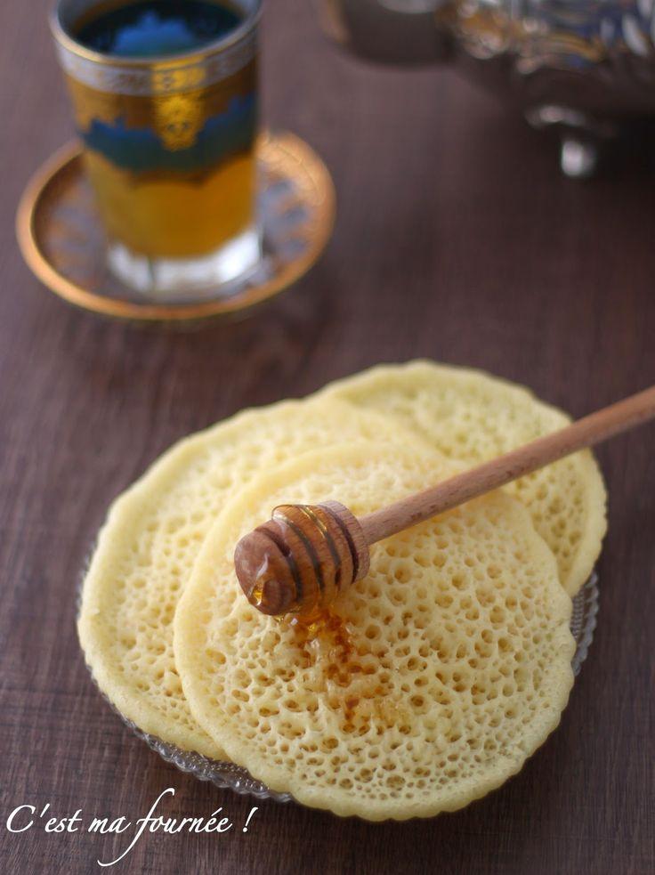 C'est ma fournée !: Les crêpes mille trous (baghrir)