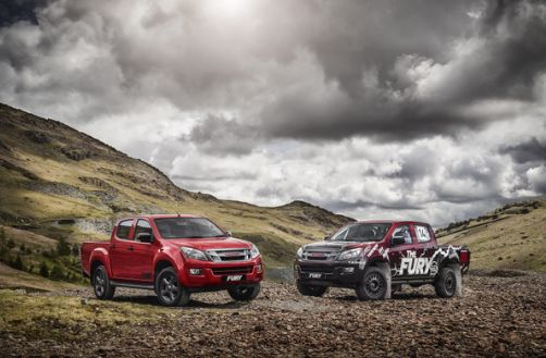 Introducing- the Isuzu D-Max Fury. It's a force to be reckoned with…#ISUZUFURY
