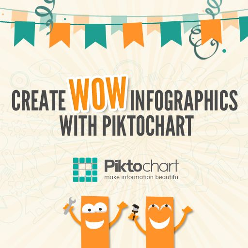 Piktochart helps you to create infographics, share and get results in 3 easy steps  No design experience required
