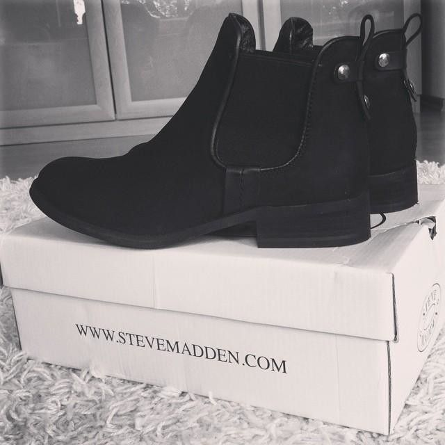 Brown & Black Chelsea Boots | Steve Madden Gilte Boots
