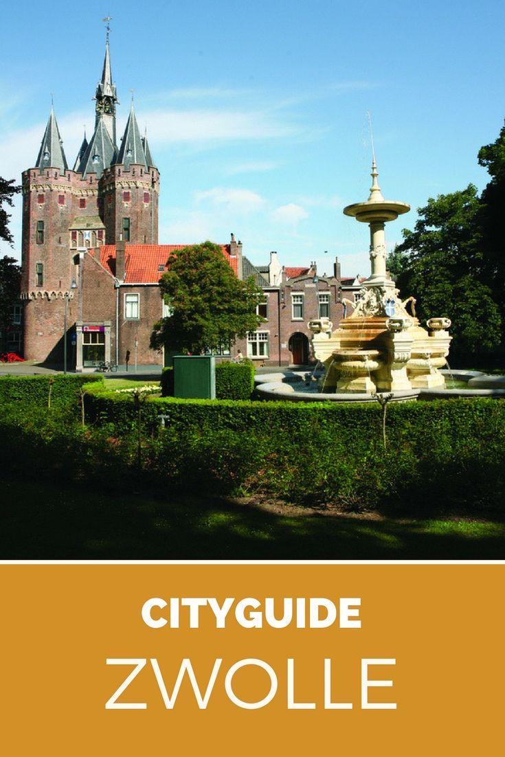Zwolle, Netherlands. Take a trip to Zwolle, The Netherlands and check out this city guide to plan your trip.