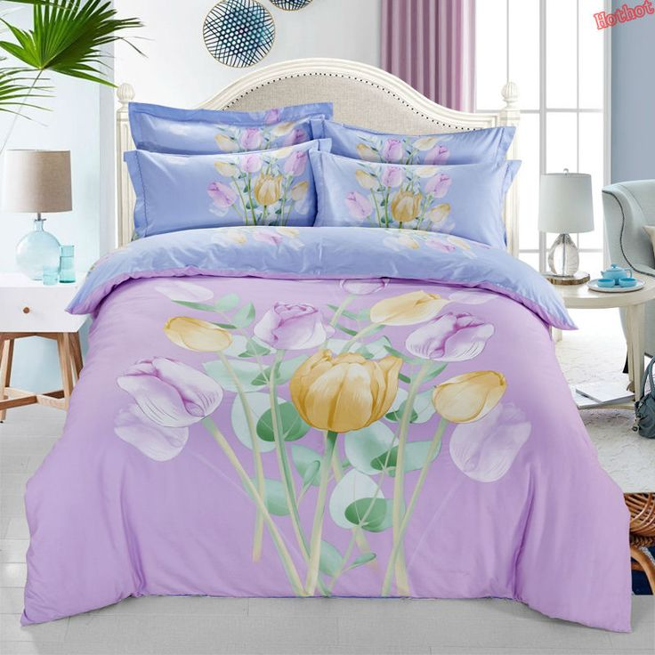 Europe Four seasons cotton cartoon four - piece cotton double bed quilt bed linen 1.5m / 1.8 / 2.0m bed