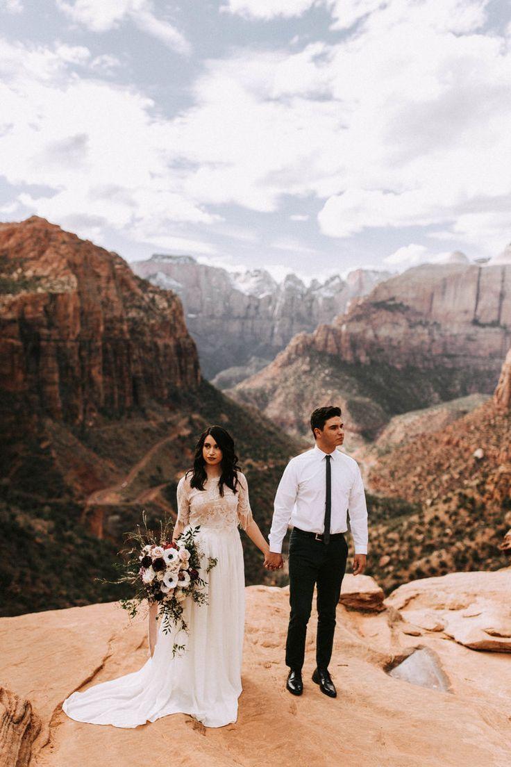 Zion National Park Wedding Zion National Park In 2020 National Park Wedding Utah Wedding Photographers Zion National Park Photography