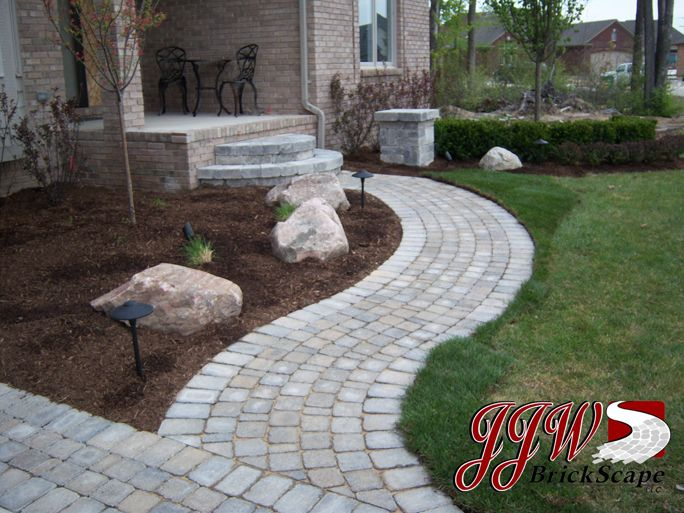 Brick Paver Walkways and Driveway Pavers | Macomb, Rochester Hills MI