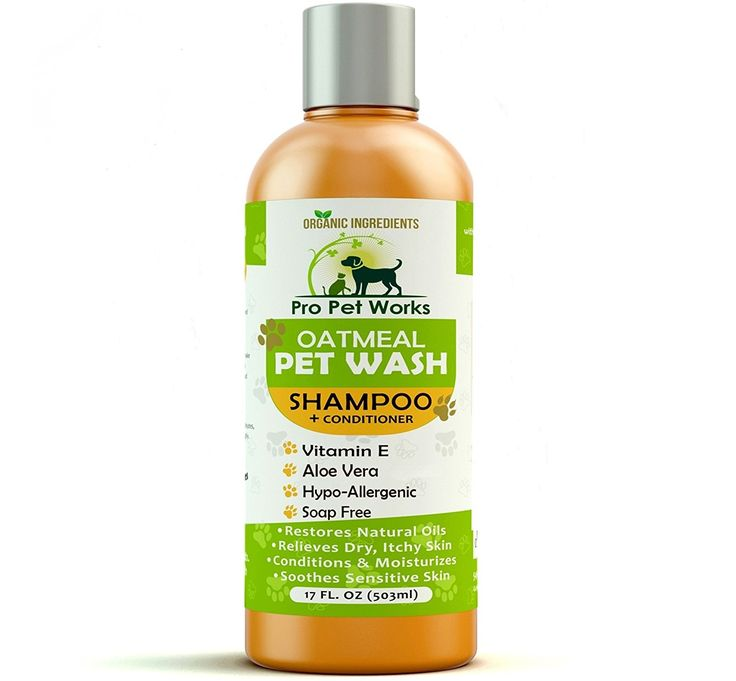 Pro Pet Works Natural Organic Oatmeal Pet Wash Dog Shampoo Conditioner with Aloe Vera-Medicated and Vet Recommended Anti-Itch Formula for Allergies and Sensitive Itchy Skin 17oz ** Read more reviews of the product by visiting the link on the image.