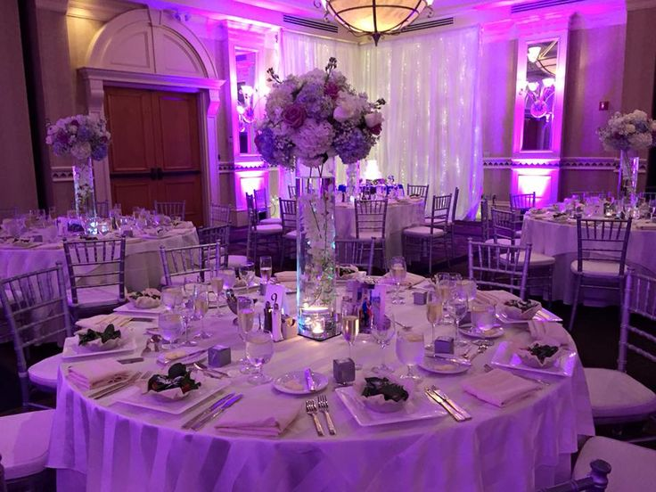 32 best wedding dj setups mood lighting images on pinterest dj purple lighting to accent the venue and match the wedding colors junglespirit Image collections