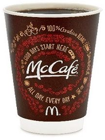 McDonald's – FREE Small McCafe Coffee, September 16 – 29